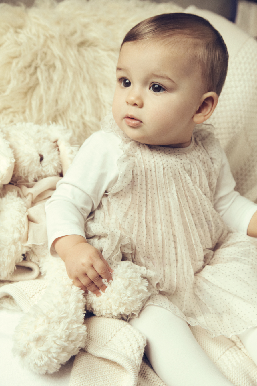 Chloe-winter-2012-9 Stylish Collection Of Winter Dresses For Baby Girls