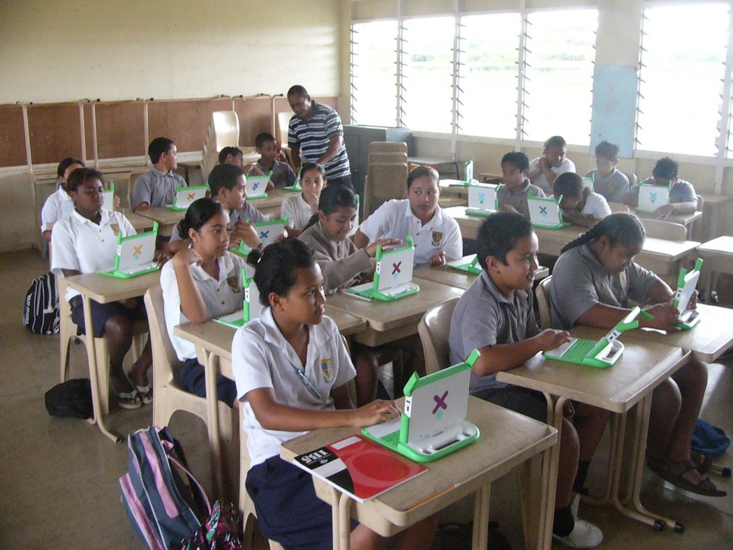 Classroom_in_Niue Latest Education Trends - What to Expect in Future