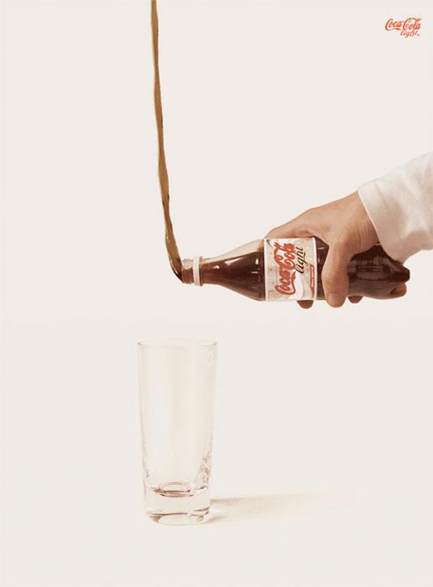 CocaLight 23 Funniest Print Ads