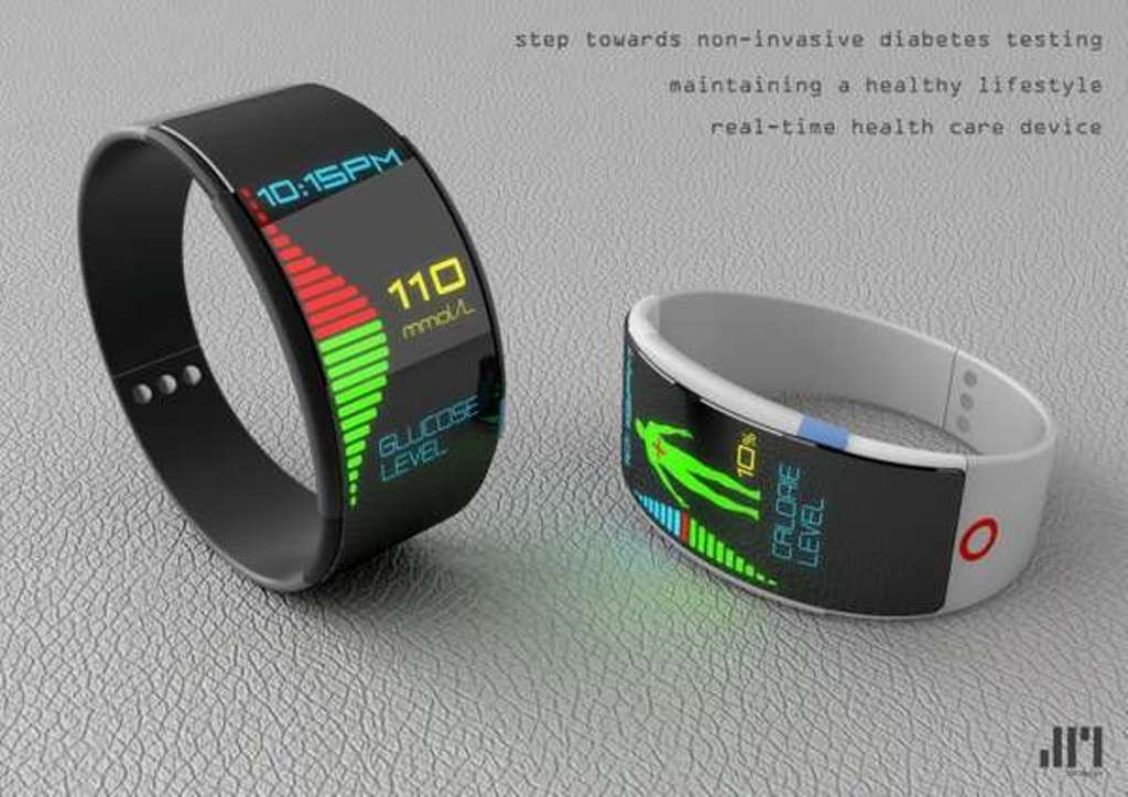 Diabetic-Watches-3 Top 35 Amazing Futuristic Watches
