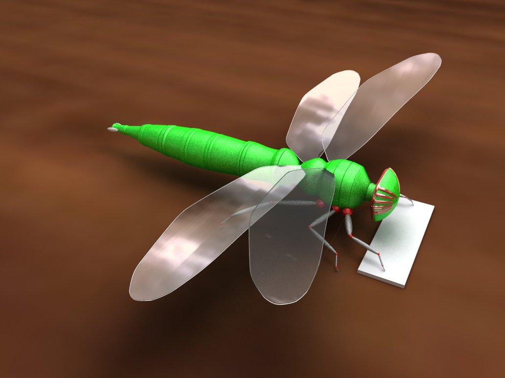 DragonFly_Robot Robotic Dragonflies That Will Dazzle You