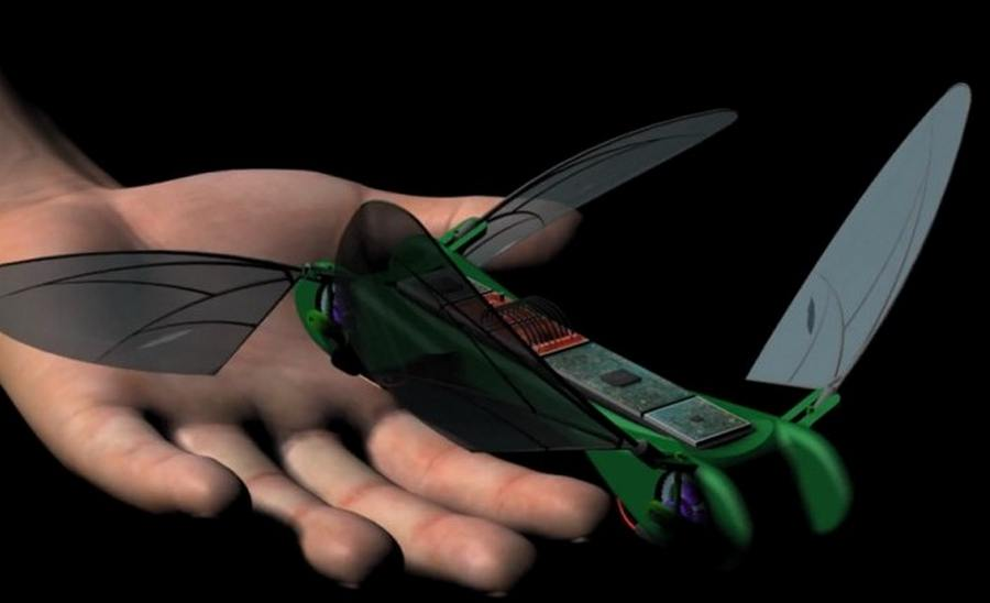 Dragonfly-micro-UAV-flies-like-a-bird Robotic Dragonflies That Will Dazzle You