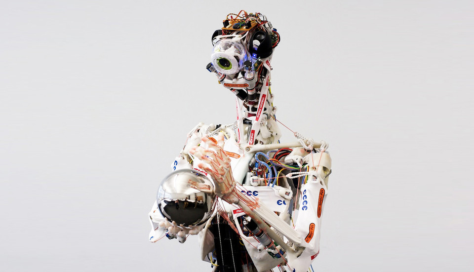 ECCE Robot Boy Turned Fiction to Reality