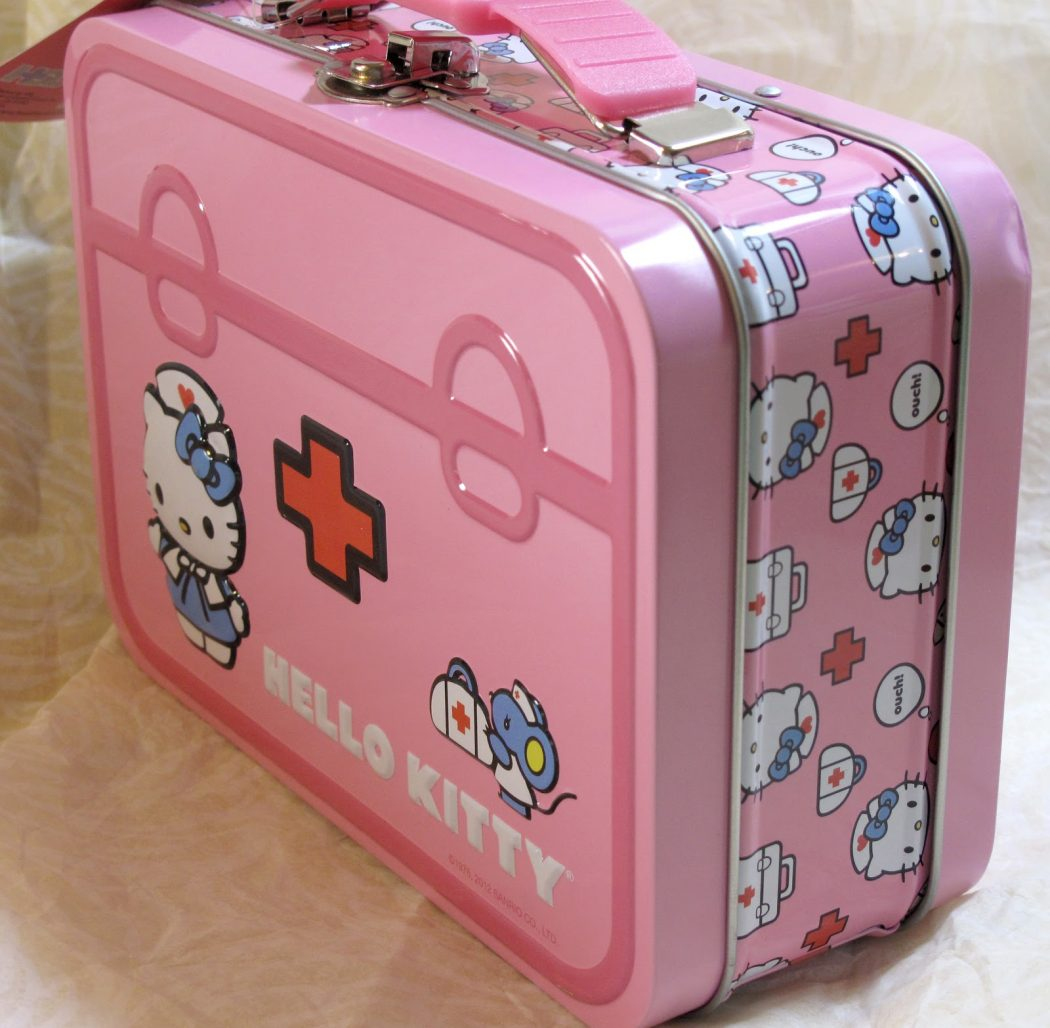 Hello-Kitty-First-Aid-Kit First Aid for Your Cat