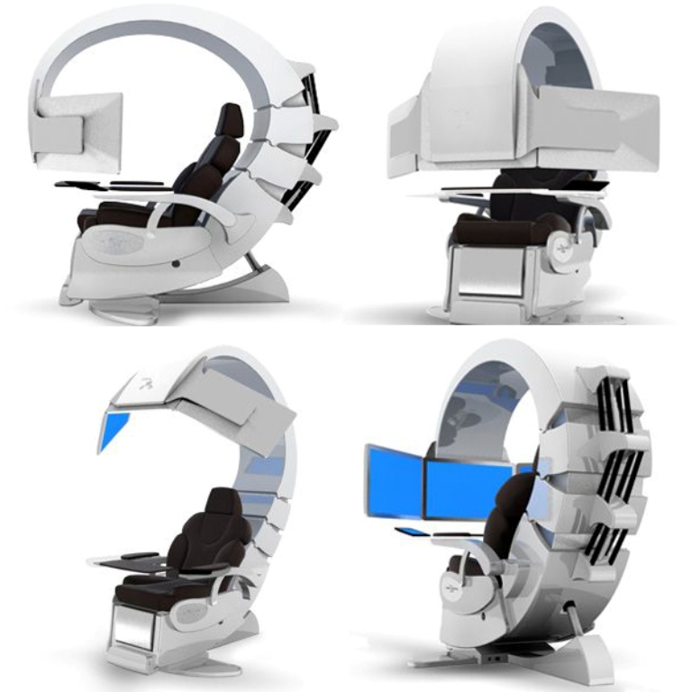 Hi-Tech-Chair-Designs-Concepts 45 Marvelous Images for Futuristic Furniture