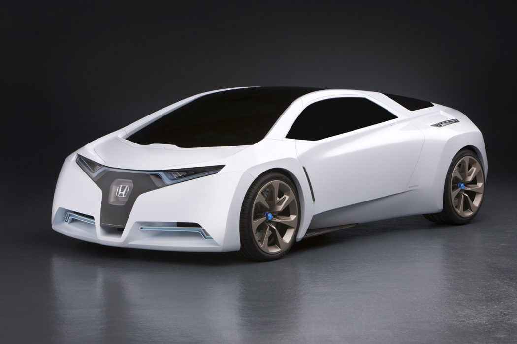 Honda-FC-Sport The Most Stylish 25 Futuristic Cars
