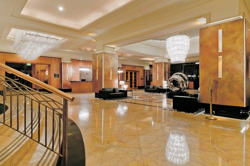 Hotel-Lobby. Enjoy A Luxurious Life in Duxton Hotel Perth