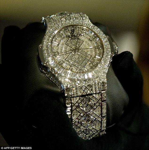 Hublot- 11 Most Expensive Diamond Watches