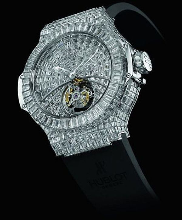 Hublot-Black-Caviar-Bang 11 Most Expensive Diamond Watches