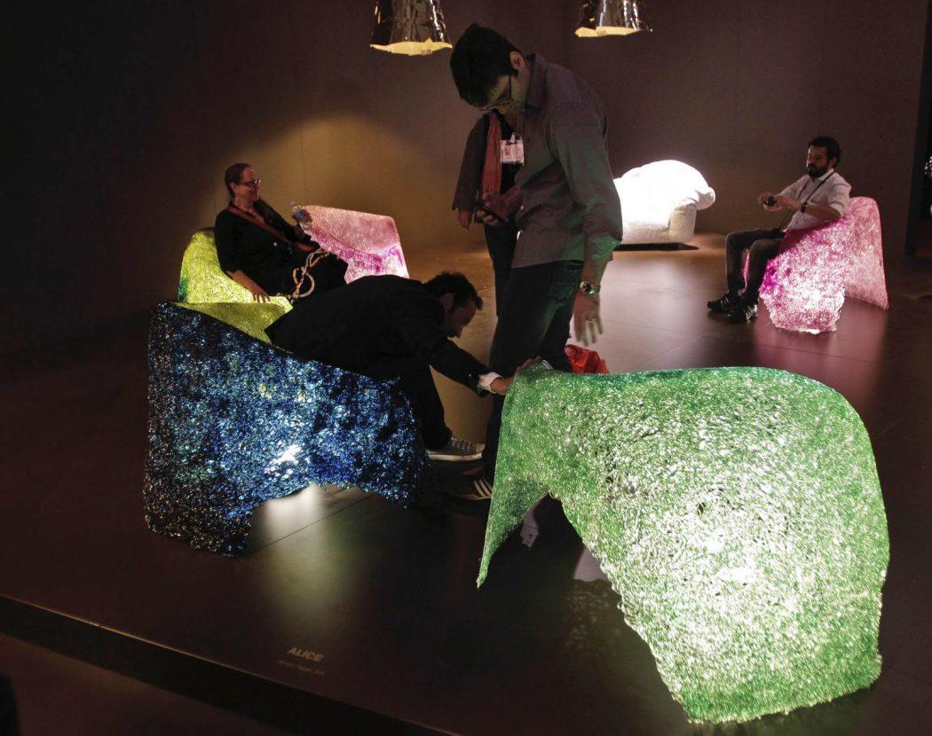 Italian-plastic-chairs 45 Marvelous Images for Futuristic Furniture