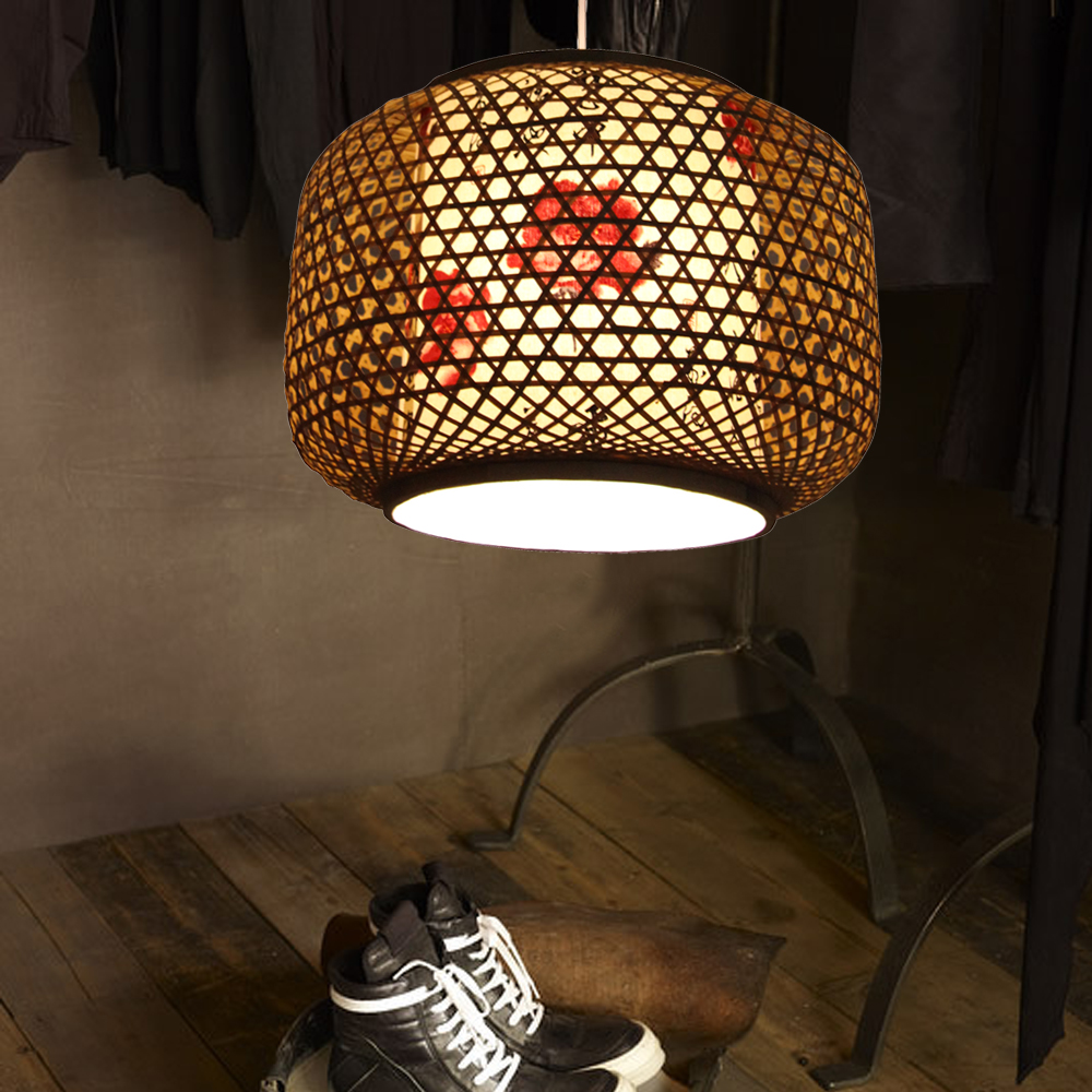 Lamps-fresh-rustic-handmade-sheepskin-bamboo-lamp-2558 Do You Like To Have A handmade Wooden Lamp?