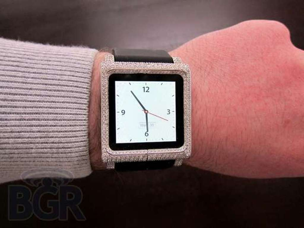 Luxe-iPod-Nano-Watches Top 30 Multifunctional Watches & Their uses