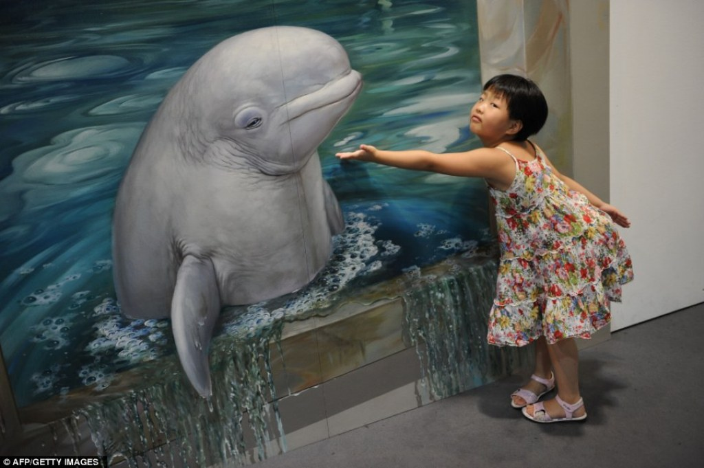 Magic-Art-Special-Exhibition 45 Stunning 3D Paintings for Decoration