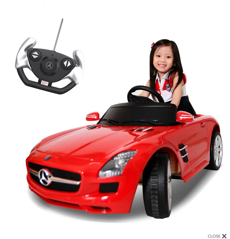 MercedesBenzSLSRED2 The Most Unbelievable 30 Realistic Kid Cars