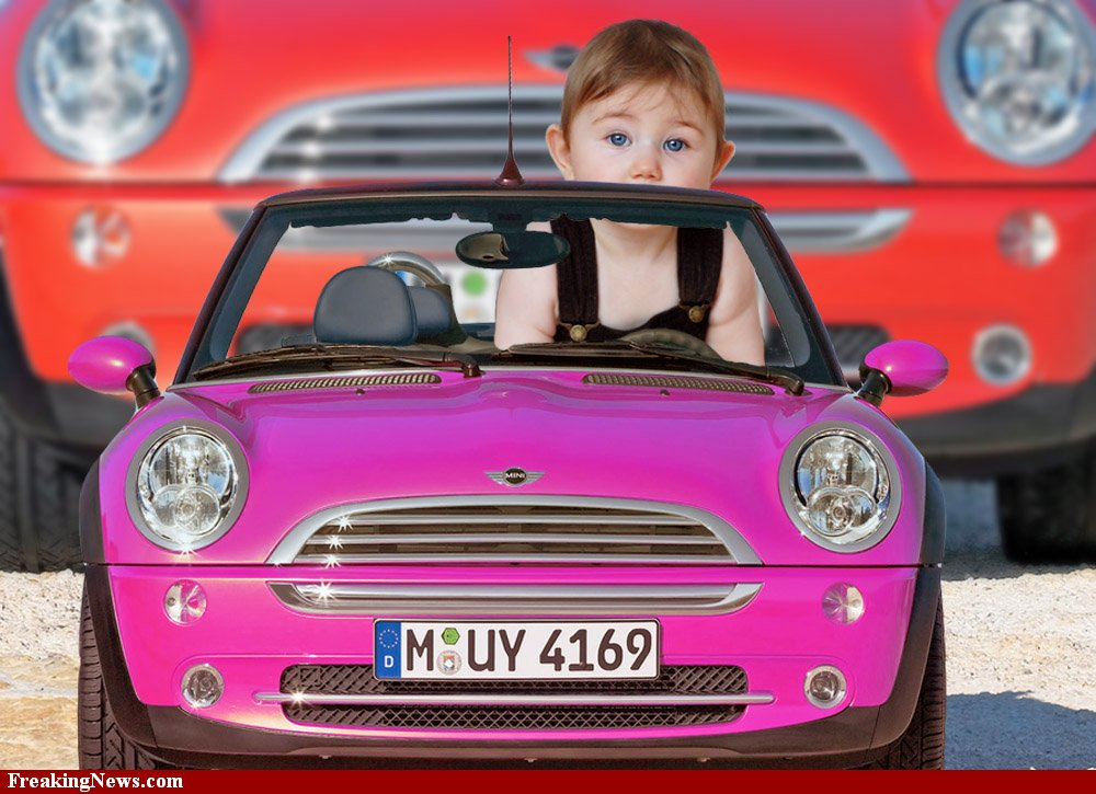Mini-Cooper The Most Unbelievable 30 Realistic Kid Cars