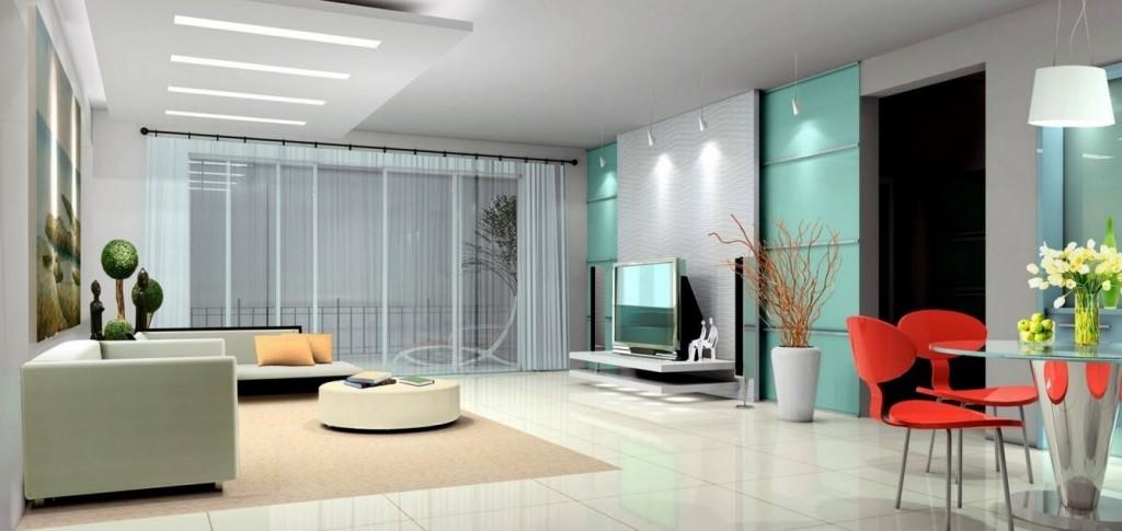 Современная гостиная украшения Ideas-