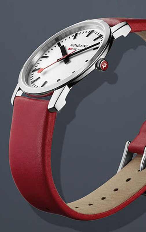 Mondaine1 The World's 15 Thinnest Watches