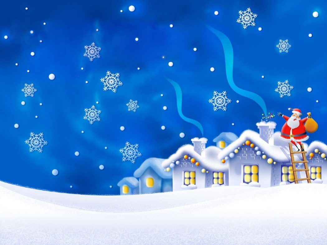 Night-Snowflakes-Gifts-Greeting-Cards Wonderful greeting cards for happy holidays