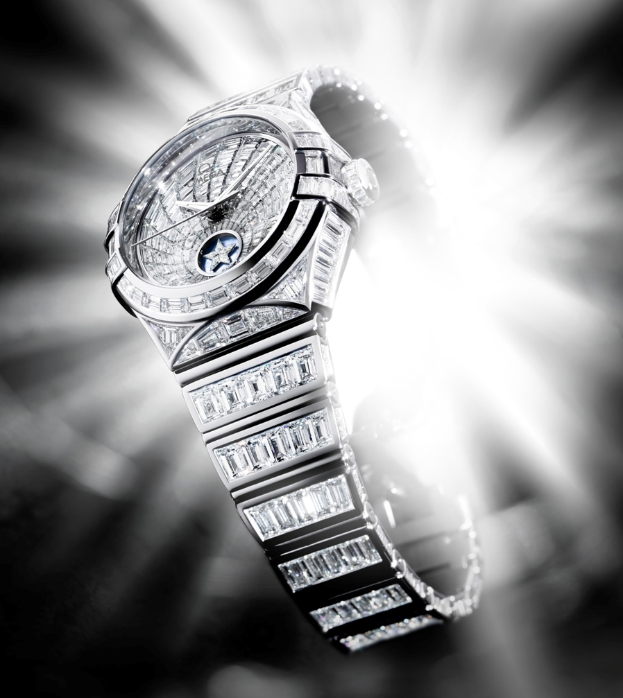 Omega-Constellation-Baguette-708742 11 Most Expensive Diamond Watches
