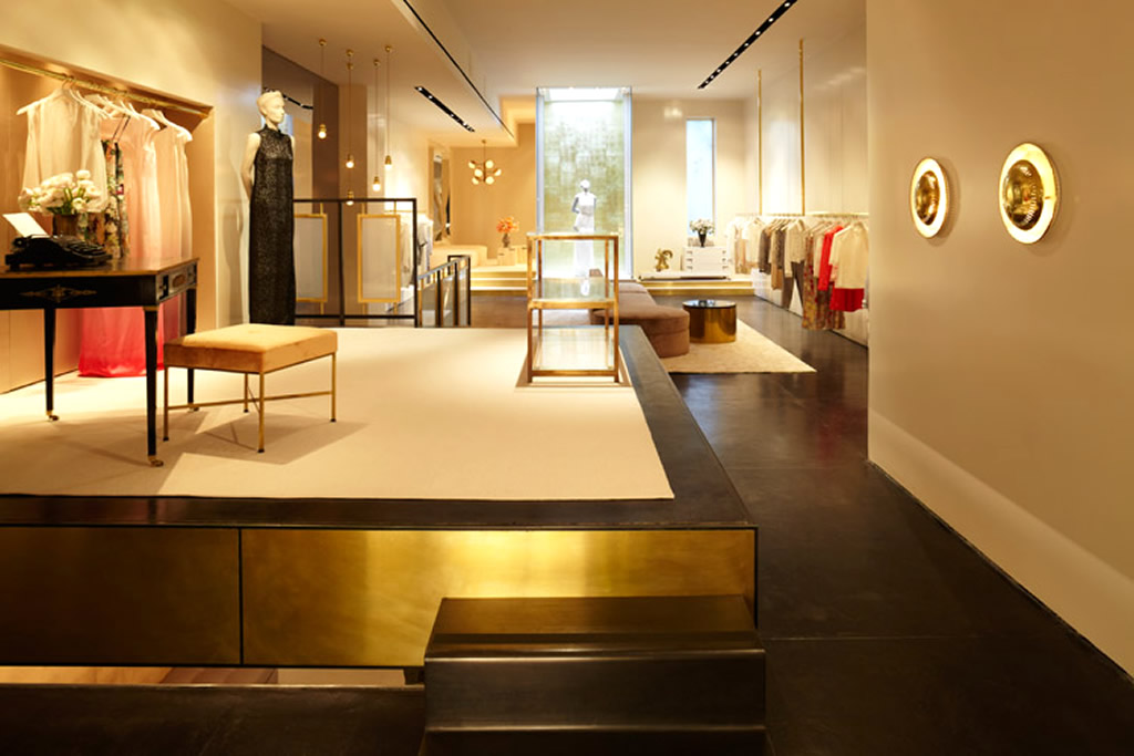 Overall interior of fashion retail store interior design honor nyc pouted online magazine for Fashion retail interior design