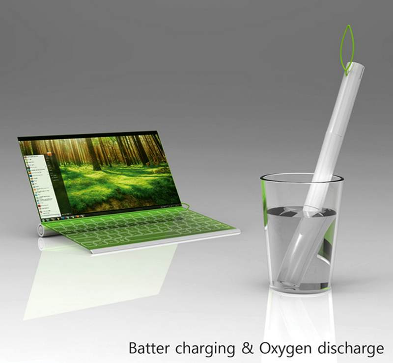 Oxygenated-Notebook-6 Believe It Or Not, A Notebook That Is Charged By Being Put Into Water