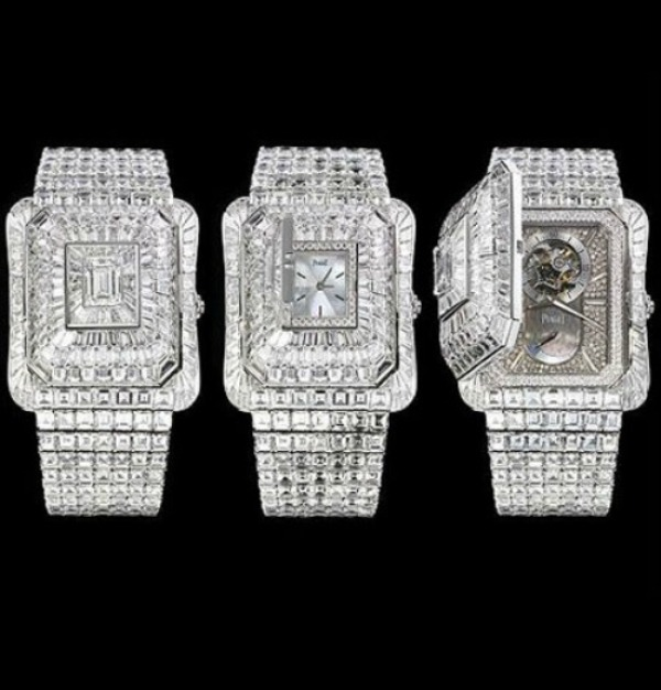 Piaget-Emperador-Temple-Watch-3.3Million 11 Most Expensive Diamond Watches
