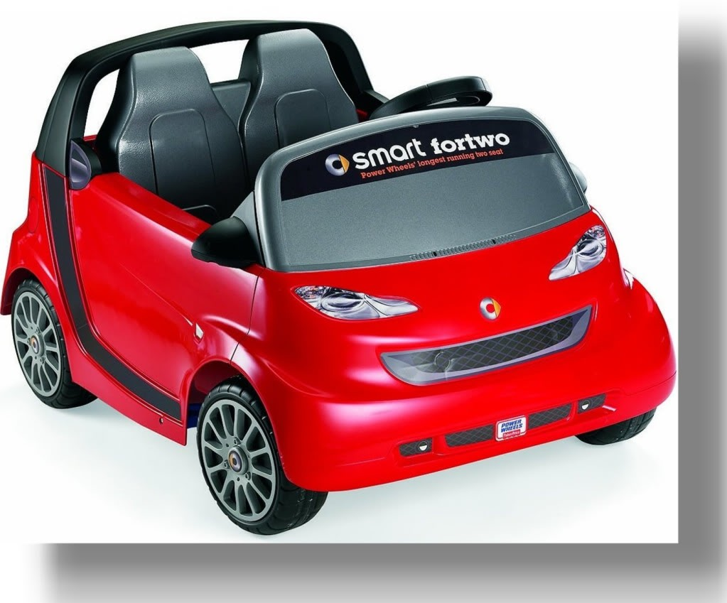 PowerWheelsSmartCar The Most Unbelievable 30 Realistic Kid Cars