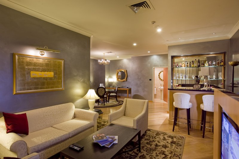 Presidential-Suite-Lounge Enjoy A Luxurious Life in Duxton Hotel Perth