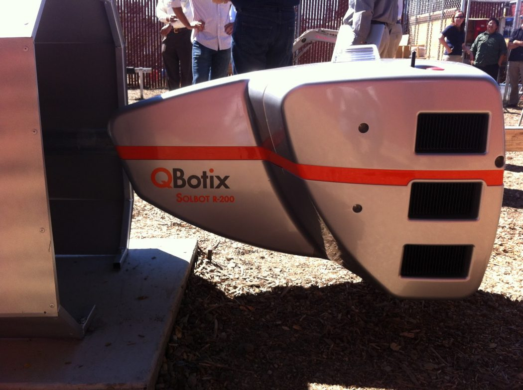 QBotix3 How Robots Help to Generate Solar Power?