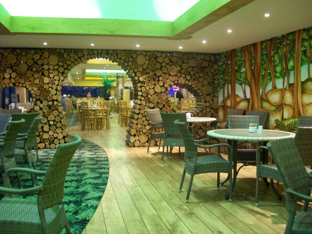 Most inspiring restaurant interior designs in the world for Interior cafe designs