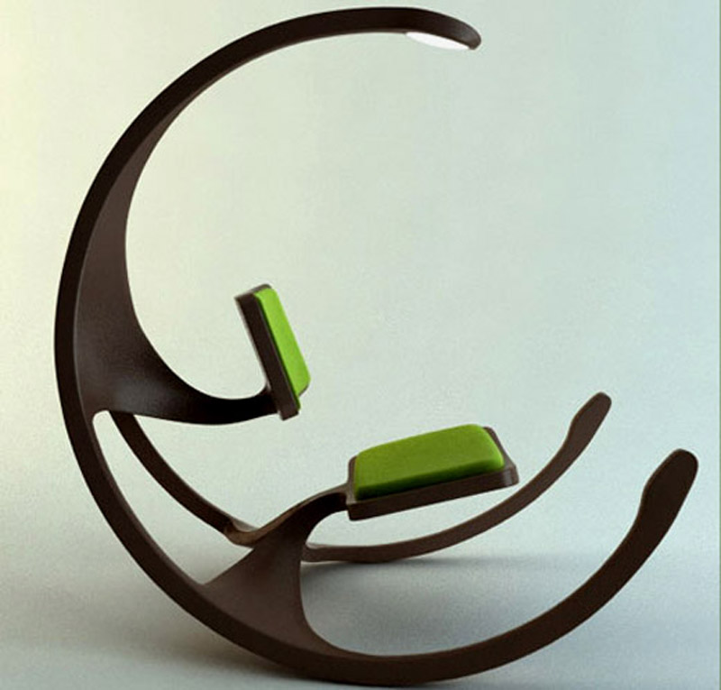 Rocking-Wheel-Chair-By-Mathias-Koehler 45 Marvelous Images for Futuristic Furniture