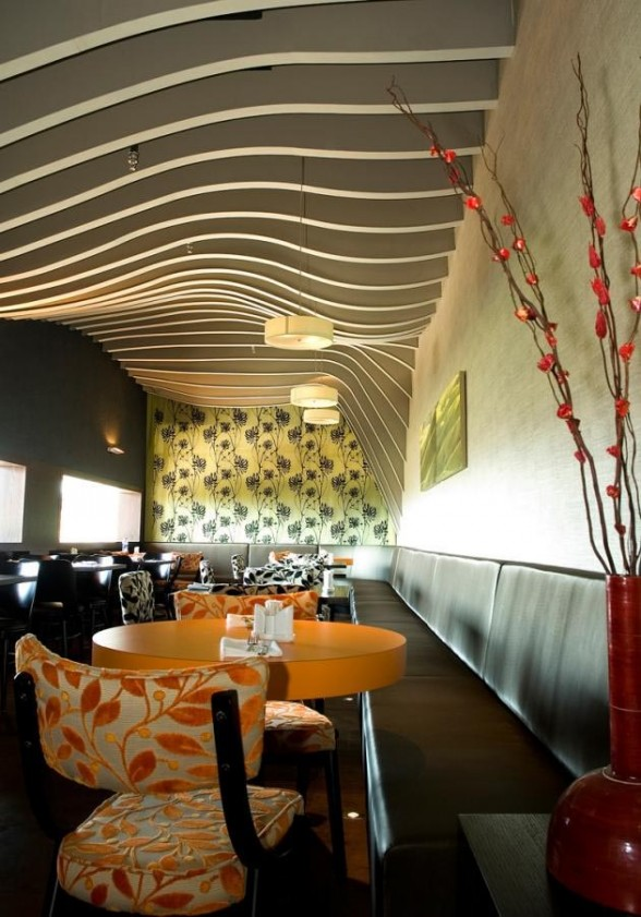 Rosso-Restaurant-Interior-by- 15 Innovative Interior Designs for Restaurants