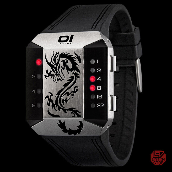 SC129R3_binary_led_watch Top 35 Amazing Futuristic Watches