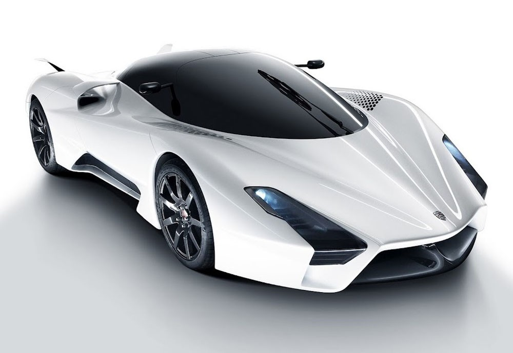 SSC-Tuatara The Most Stylish 25 Futuristic Cars