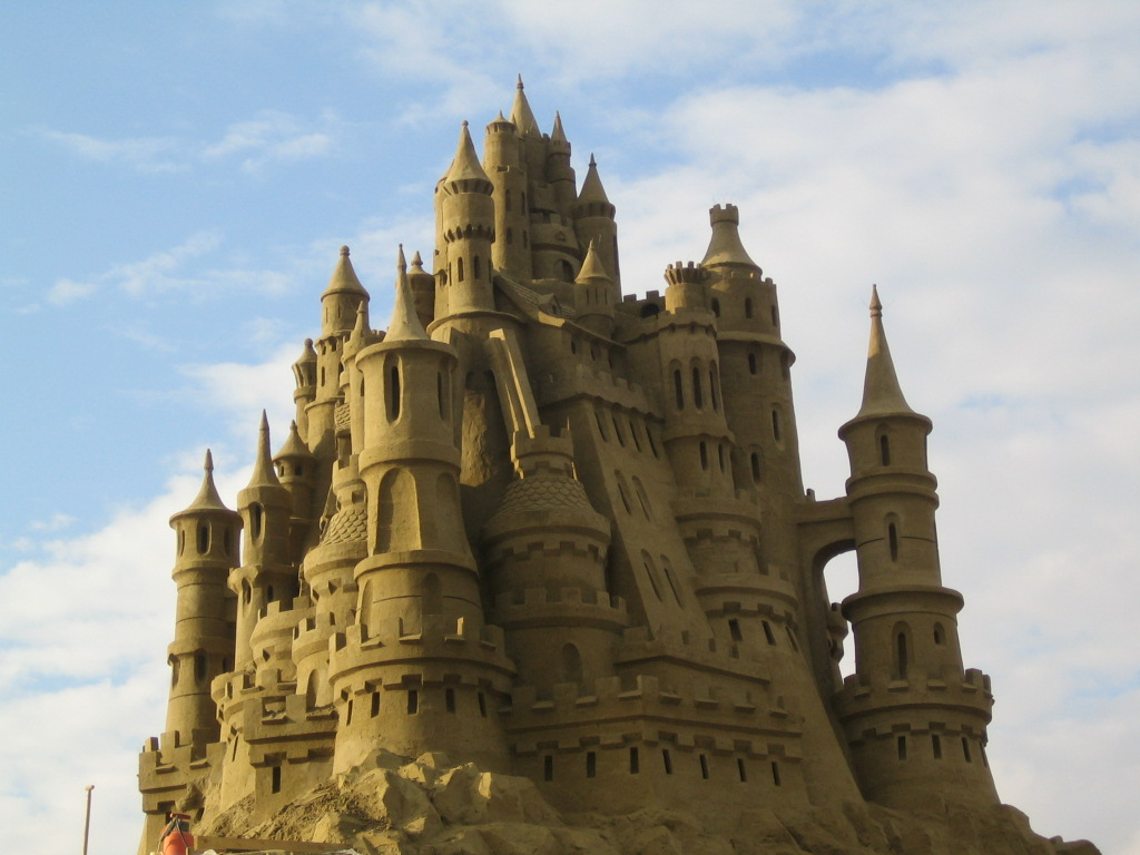 Sand_Castle_4_by_Suzuko421 The Best 10 Videos and 30 images for Sand Art