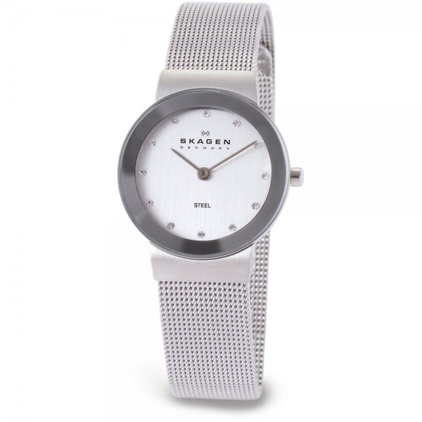 Skagen-Ladies-Swarovski-Ultra-Slim-Silver-Steel-Bracelet-Watch The World's 15 Thinnest Watches