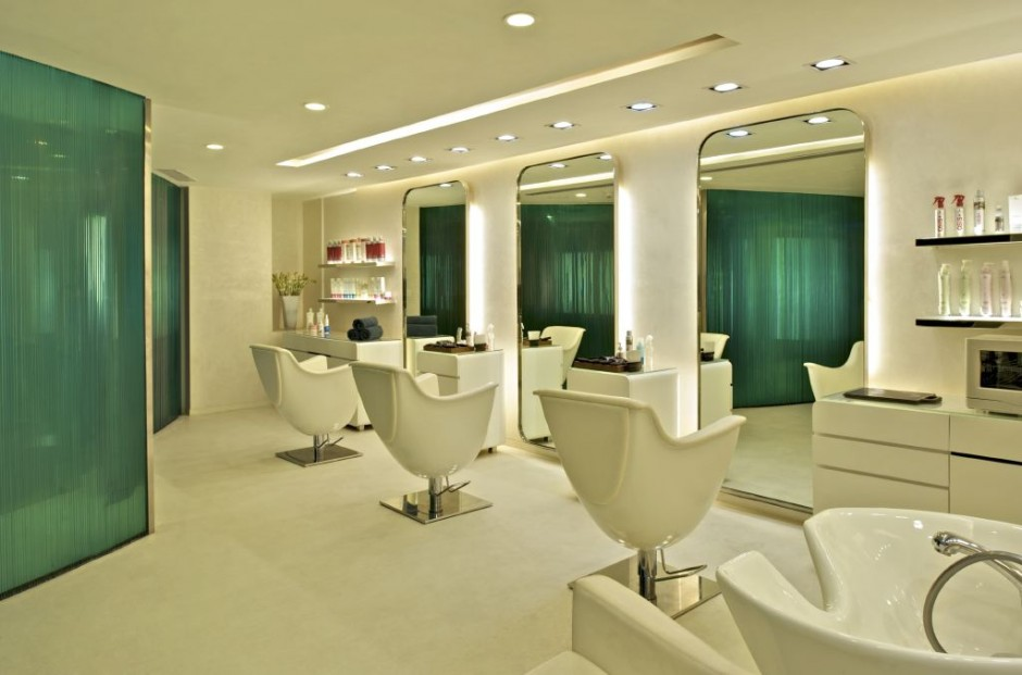 What are the best salon spa designs pouted online for Photos salon design