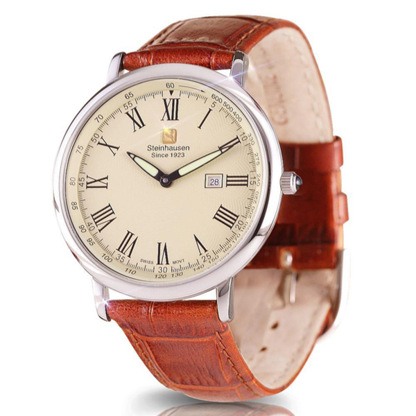 Steinhausen-Mens-Dunn-Horitzon-Watch The World's 15 Thinnest Watches