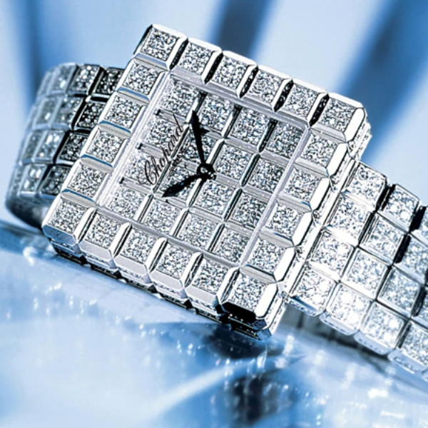 The-Chopard-Super-Ice-Cube 11 Most Expensive Diamond Watches