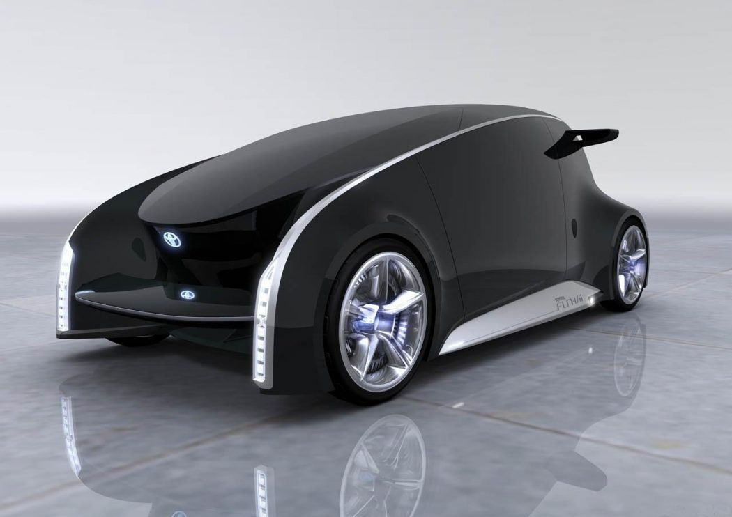 Toyota1 The Most Stylish 25 Futuristic Cars