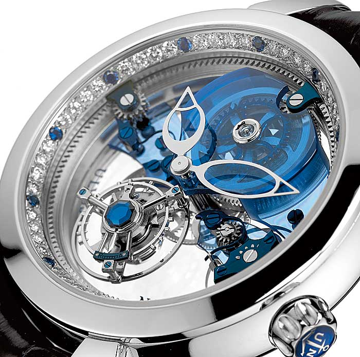 Ulysse-Nardin-–-Royal-Blue-Tourbillon-1000000-9.5-M's 11 Most Expensive Diamond Watches