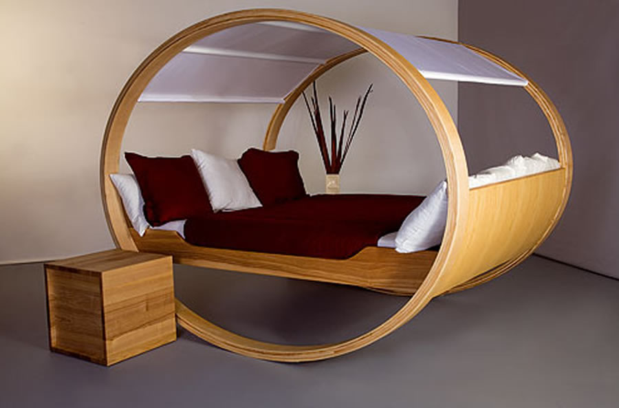 Unconventional-Home-Interior-Furniture-Design-Ideas-Private-Cloud-Bed-Series-by-Michael-Kloker-and-Manuel-Kloker 45 Marvelous Images for Futuristic Furniture