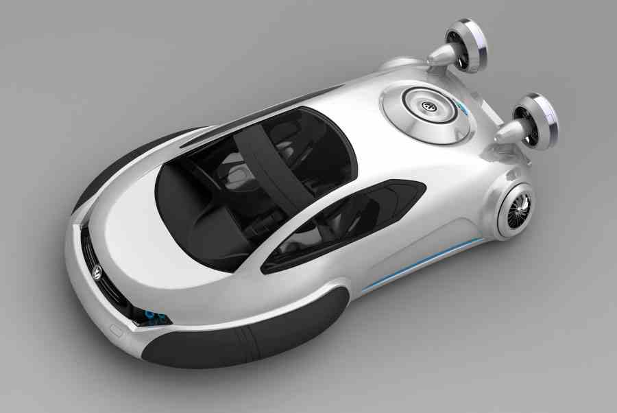 Volkswagen-Aqua-Of-Future-Car-Concept The Most Stylish 25 Futuristic Cars