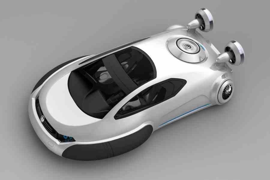 Volkswagen-Aqua-Of-Future-Car-Concept The Most Stylish 25 Futuristic Cars