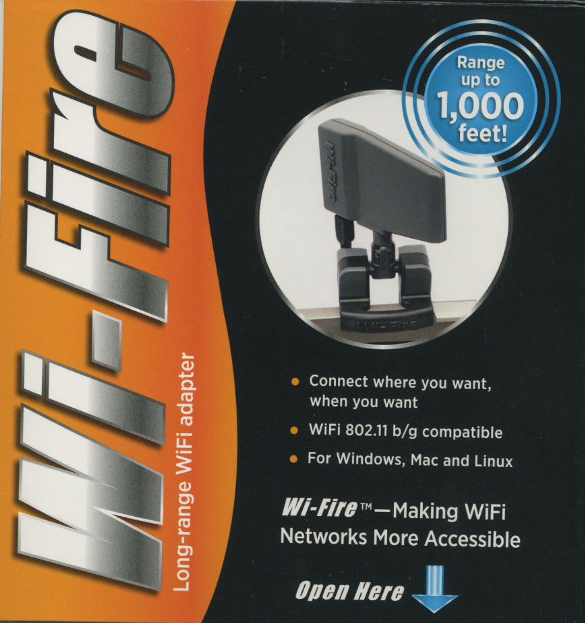Wi-Fire-box Wi-Fire Solves The Problem of Weak Signals
