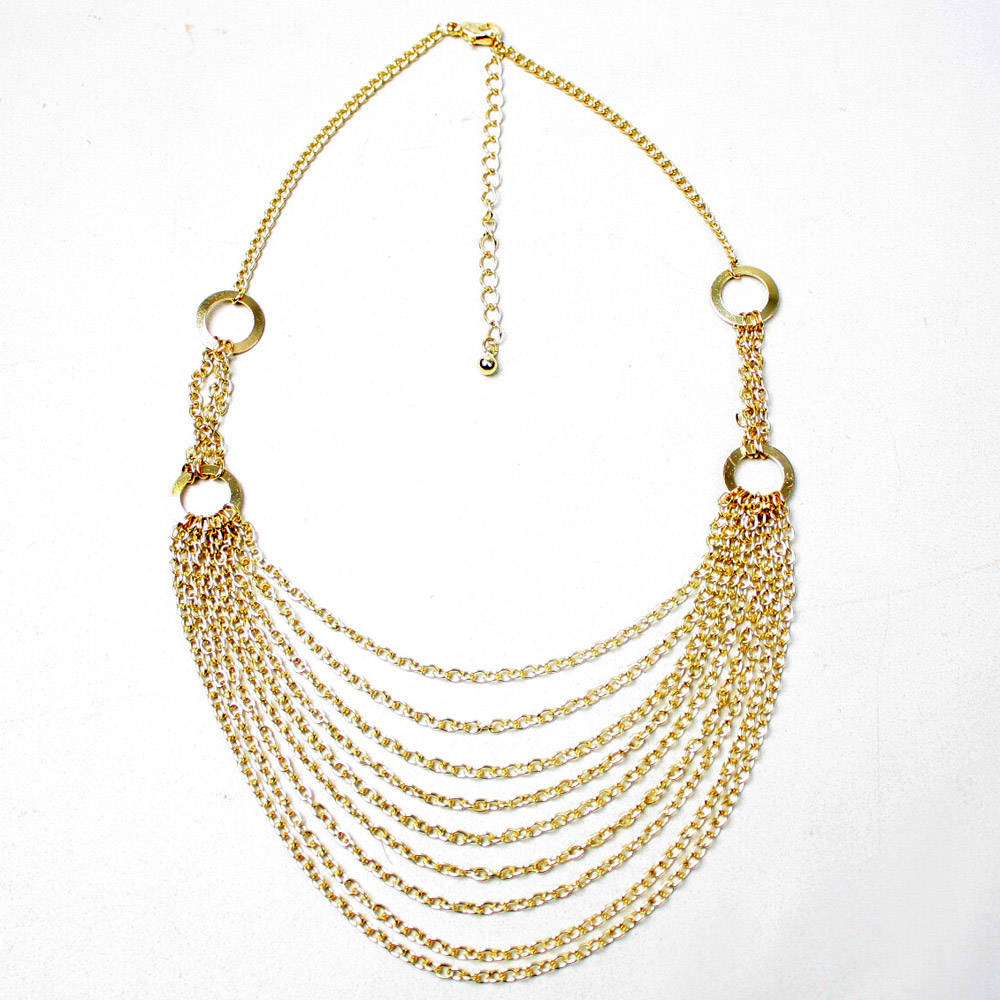 Zyx Saj N681 Gold Necklaces Discount Designer 2013 Top Jewelry Trends