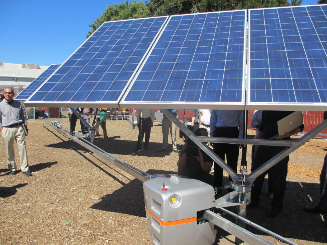 adjusting How Robots Help to Generate Solar Power?