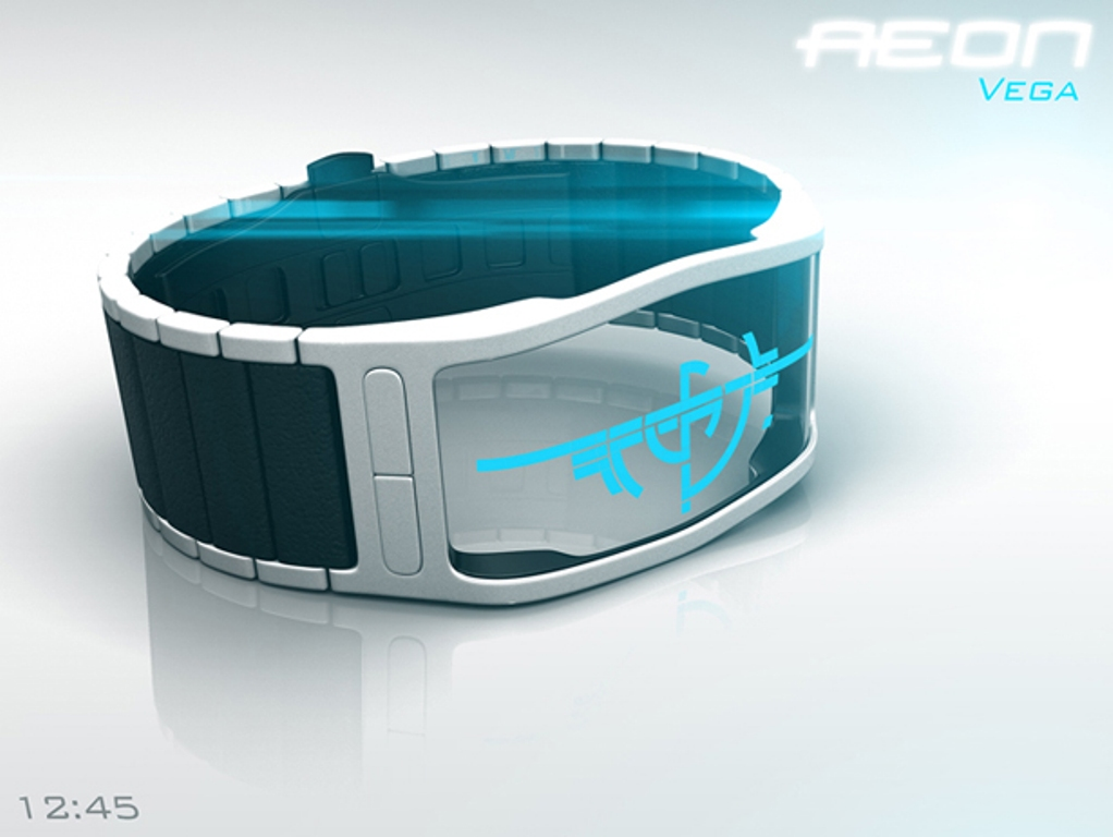 aeon-transparent-lcd-watch-by-samuel-jerichow1 The Most 10 Transparent Watches in The World