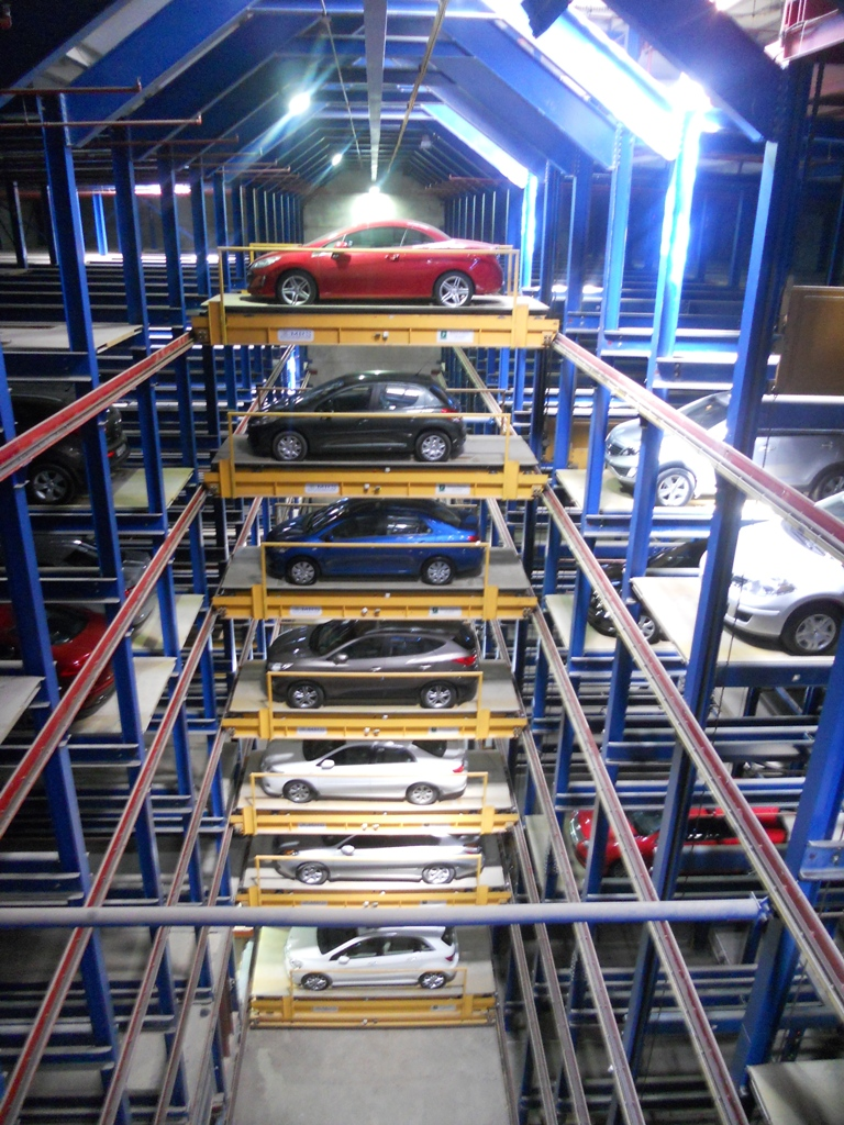 automated Fully Automated Car Parking Systems