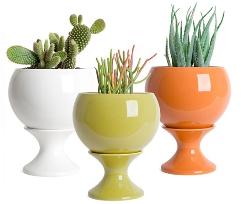 awesome-modern-colorful-planters-collection-2 How To Make Plants A Part Of Your Home Decoration?